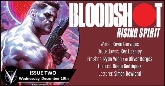 [Preview] Valiant's 12/19 Release: BLOODSHOT RISING SPIRIT #2